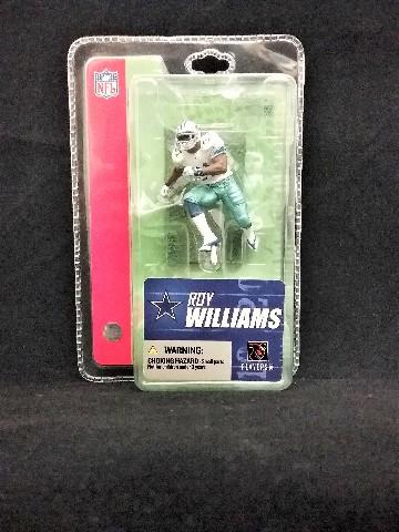 "2005 Roy Williams Dallas Cowboys McFarlane Sportspicks 3"" Mini NFL"