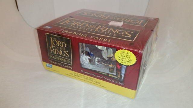 Topps Lord of the Rings LOTR Masterpieces Retail Box 2006 (Sealed)