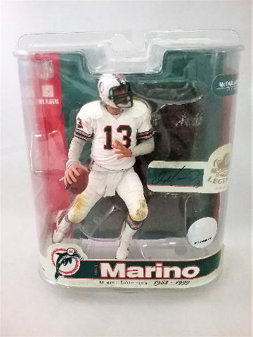 2007 Dan Marino NFL McFarlane Legends Figure Miami Dolphins Series 3
