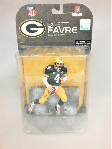 2008 Brett Favre Green Bay Packers McFarlane Sportspicks Figure NFL Series 17