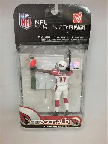 2009 Larry Fitzgerald McFarlane Figure NFL Series 20 Arizona Cardinals