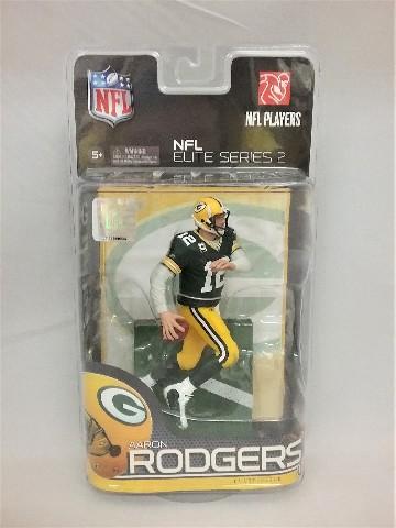 2010 Aaron Rodgers Elite McFarlane Figure NFL Elite Series 2 Green Bay Packers