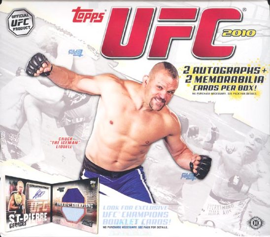 2010 Topps UFC Series 4 Hobby 16 Pack BOX (Factory Sealed)
