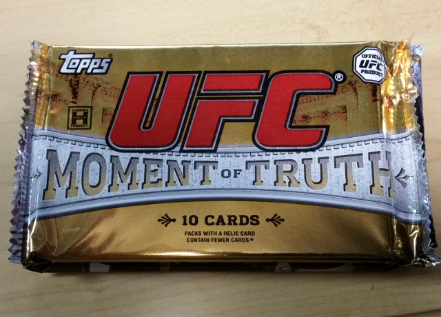 2011 Topps UFC Moment of Truth Hobby 10 Card PACK (Factory Sealed)(Random)