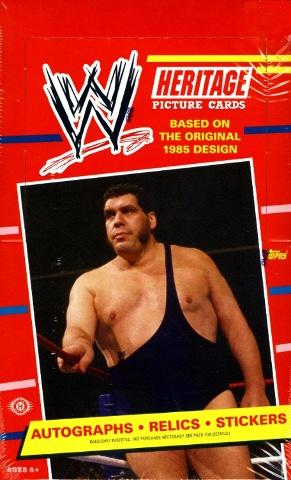 2012 Topps WWE Heritage Wrestling Hobby Box (Sealed)