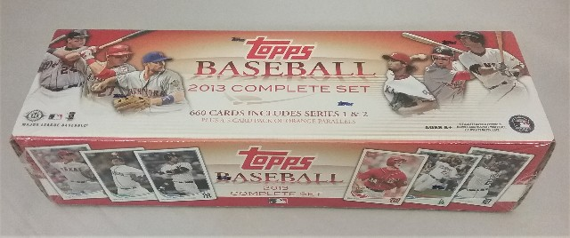 2013 Topps Baseball Factory Set Sealed Hobby