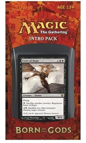 Magic the Gathering MTG Born Of The Gods Intro Pack Death's Beginning Englsh