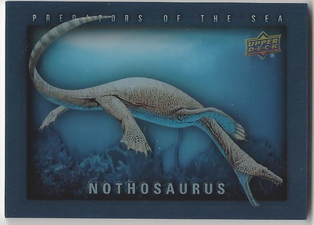 Nothosaurus 2015 Dinosaurs #POS-18 Predators of The Sea Card