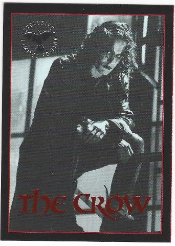 The Crow 1995 Exclusive Premium Trading Card 1/1 from Kitchen Sink Press 1 of 1