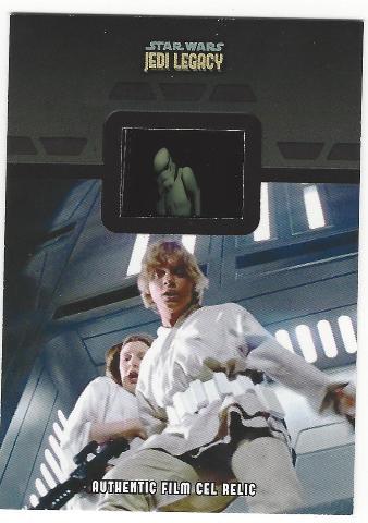 Luke Skywalker Princess Leia 2013 Star Wars Legacy #FR-7 Storm Trooper Film Cell