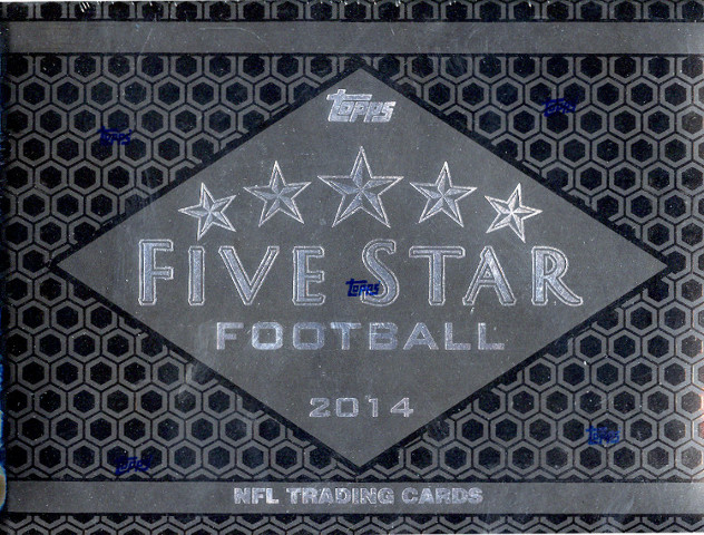 2014 Topps Five Star Football Hobby Box/Pack (6 Cards)(Sealed)