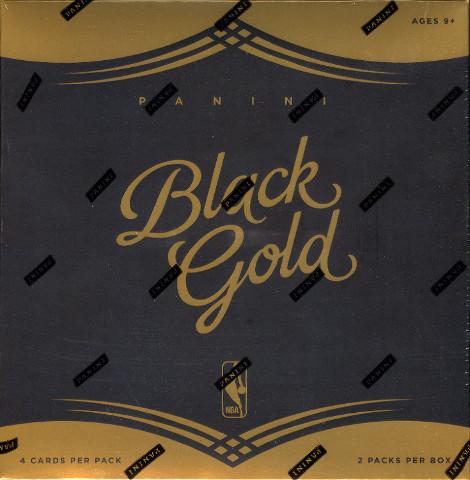 2015/16 Panini Black Gold Basketball Hobby 2 Pack Box (Sealed)