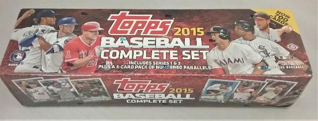 2015 Topps Baseball Factory Set Hobby