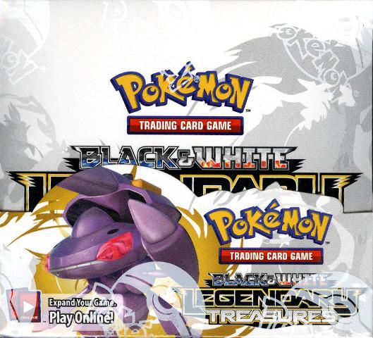 Pokemon Black & White (B&W) Legendary Treasures Sealed Booster Box (English)