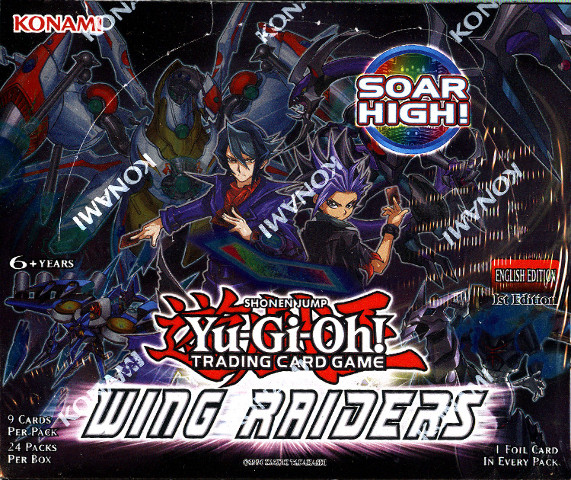 Yugioh Wing Raiders 1st Edition Booster Box English (Sealed) 2016