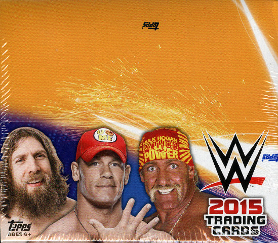 2015 Topps WWE Wrestling Hobby Box (Sealed)