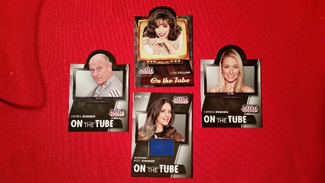 Patti Stanger 2015 Panini Americana On The Tube 4 Card Lot Collins Bernsen