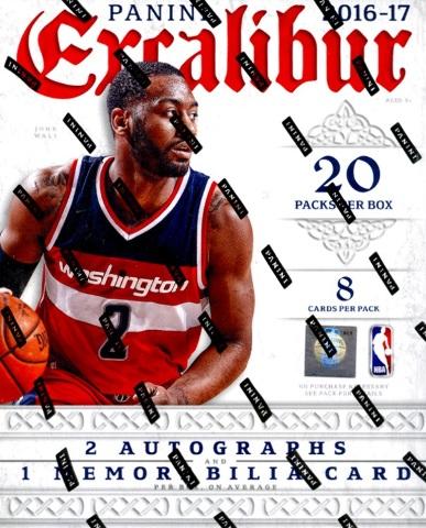2016/17 Panini Excalibur Basketball Hobby 20 Pack Box (Factory Sealed)