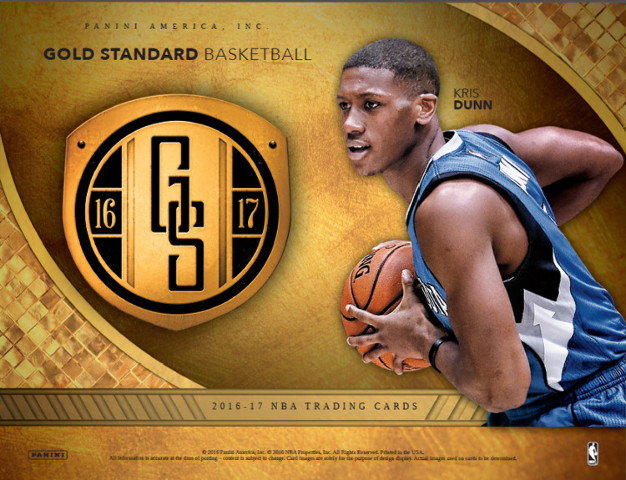 2016/17 Panini Gold Standard Basketball 7 Card Hobby Pack/Box (Sealed)
