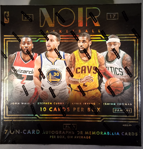 2016/17 Panini Noir NBA Basketball Hobby 4 Box Case (Sealed)