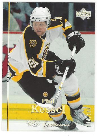 Phil Kessell Boston Bruins 2007-08 UD Exclusives /100