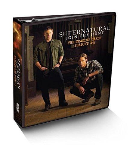 Cryptozoic Sealed Supernatural Seasons 4-6 Binder w/Random Autograph & 10 Pages