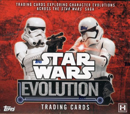 2016 Topps Star Wars Evolution Hobby 12 Box Case (Sealed)