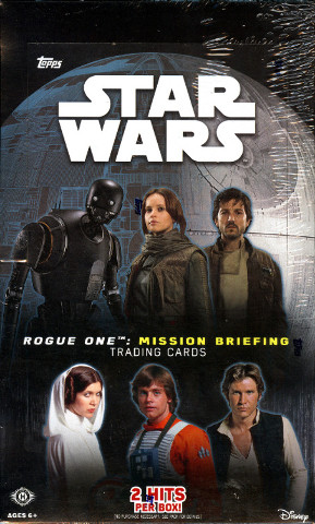 2016 Topps Star Wars Rogue One: Mission Briefing 12 Hobby Box Case (Sealed)