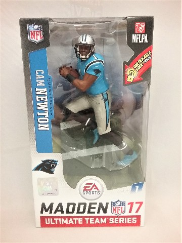 2016 Cam Newton Madden McFarlane Ultimate Figure Series 1 Carolina Panthers