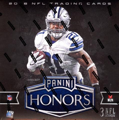 2016 Panini Honors Football Hobby Box (Sealed)