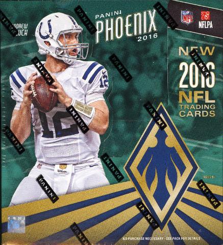 2016 Panini Phoenix Football Hobby 12 Pack Box (Sealed)