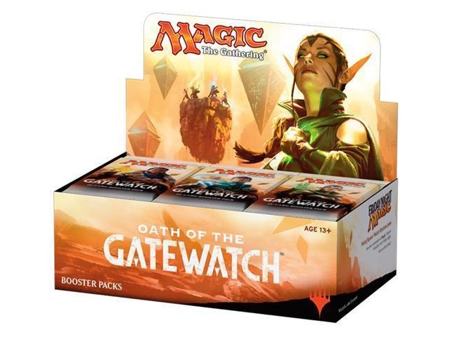 Magic the Gathering (MTG) Oath of the Gatewatch Booster Box 2016 English Sealed