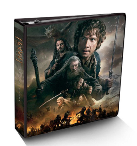 Cryptozoic Sealed Hobbit Battle of Five Armies Binder+Lenticular Card+10 Pages