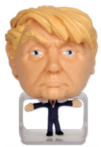 Donald Trump SqueezeEz Mega Head Collectible Stress Ball Make American Great