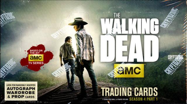 The Walking Dead Season 4: Part 1 Hobby Box (Sealed) (Cryptozoic) 2016
