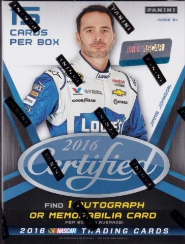 2016 Panini Certified NASCAR Auto Racing Blaster Box (Sealed)