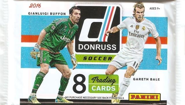 2016 Panini Soccer 8 Card Hobby Pack (Sealed) (Futbal)