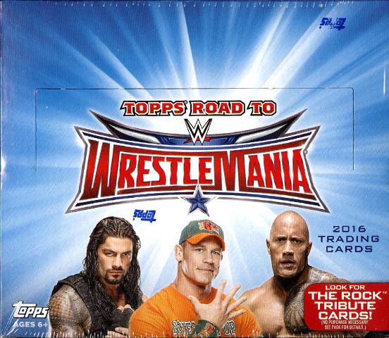 2016 Topps WWE Road To Wrestlemania Hobby Box (Sealed)