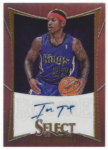Isaiah Thomas 2012-13 Panini Select Prizms Rookie Autograph Boston Celtics /199