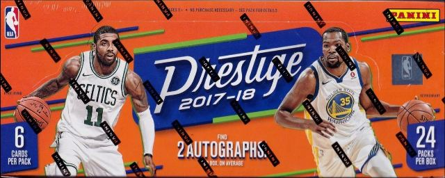 2017/18 Panini Prestige Basketball 24 Pack Hobby Box (Sealed)