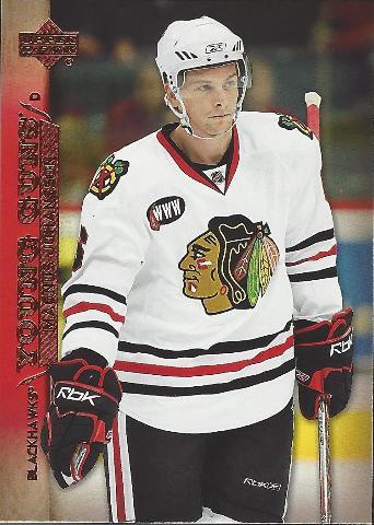 Magnus Johansson Chicago Blackhawks 07-08 Upper Deck Series 1 Young Guns RC #211