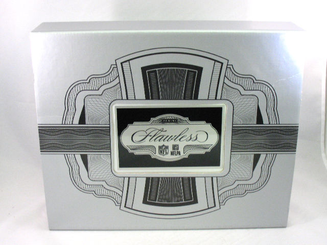 2017 Panini Flawless NFL Football Empty Silver Briefcase Case