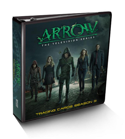 Arrow Season 3 Album Binder w/Exclusive Wardrobe Card (2016)(Cryptozoic)(Sealed)