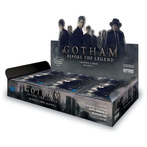 Gotham Before the Legend Season 2 Trading Cards Hobby Box Sealed Cryptozoic 2017
