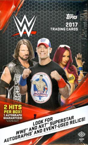 2017 Topps WWE Wrestling Hobby (24 Pack) Box (Factory Sealed)