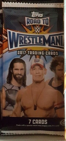 2017 Topps WWE Road To Wrestlemania 7 Card Hobby Pack (Factory Sealed)