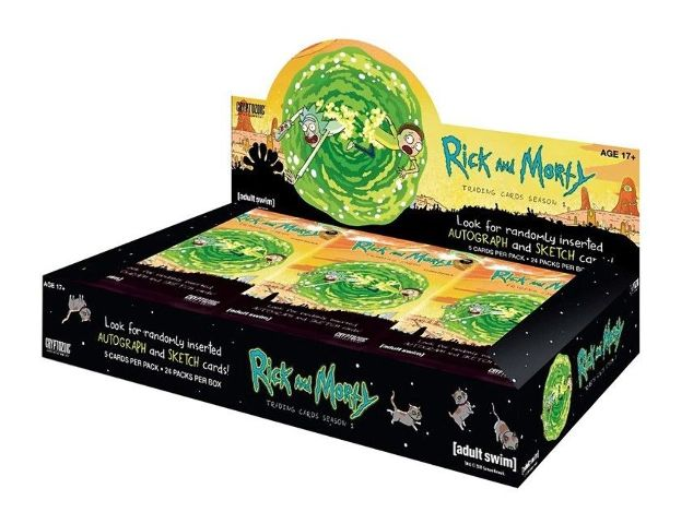 Rick & Morty Season 1 Trading Cards Hobby Box (Sealed)(Cryptozoic) 2018