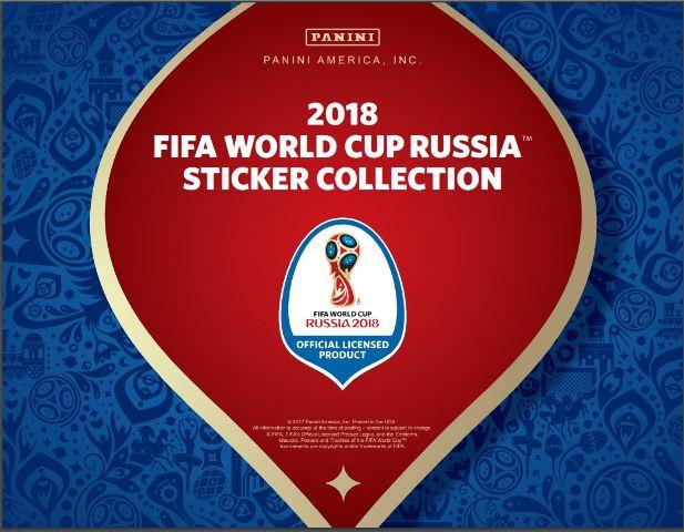 2018 Panini FIFA World Cup Soccer Stickers Box (Futbal) (Sealed)--NO ALBUM--