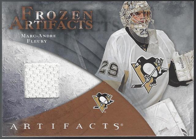 Marc-Andre Fleury 2010-11 Upper Deck UD Artifacts Frozen Retail FAR-MF Penguins