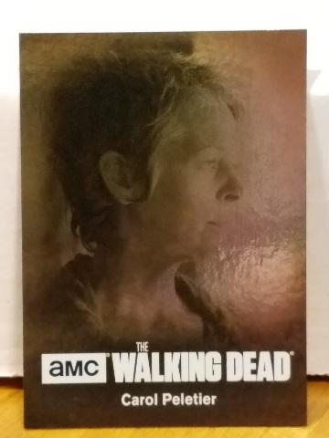 Melissa McBride Carol Peletier 2016 Cryptozoic Walking Dead /25 season 4 part 1